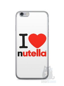 Capa Iphone 6/S I Love Nutella