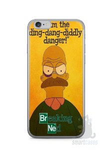 Capa Iphone 6/S Homer Simpson Breaking Bad