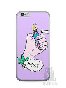 Capa Iphone 6/S Melhores Amigos Fumando