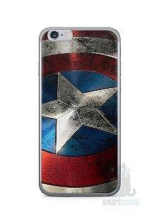 Capa Iphone 6/S Escudo Capitão América