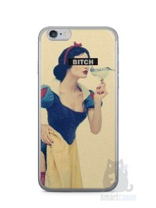 Capa Iphone 6/S Branca de Neve Bitch