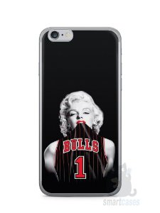 Capa Iphone 6/S Marilyn Monroe Bulls