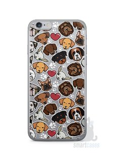 Capa Iphone 6/S Cachorros