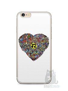 Capa Iphone 6/S Plus Coração Personagens