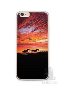 Capa Iphone 6/S Plus Cavalos #1