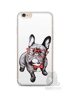 Capa Iphone 6/S Plus Cachorro Bulldog Francês Estiloso