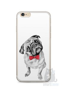 Capa Iphone 6/S Plus Cachorro Pug Estiloso #2