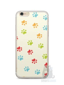 Capa Iphone 6/S Plus Patinhas Coloridas #2