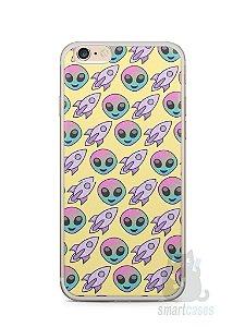 Capa Iphone 6/S Plus Aliens e Foguetes