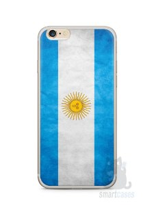 Capa Iphone 6/S Plus Bandeira da Argentina