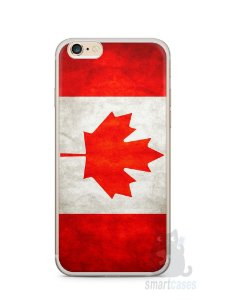 Capa Iphone 6/S Plus Bandeira do Canadá