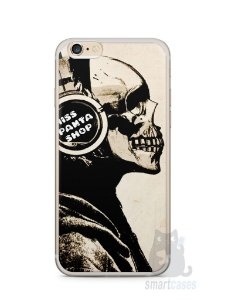 Capa Iphone 6/S Plus Caveira Music