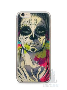 Capa Iphone 6/S Plus Caveira Pintura