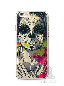 Capa Iphone 6/S Plus Caveira Pintura