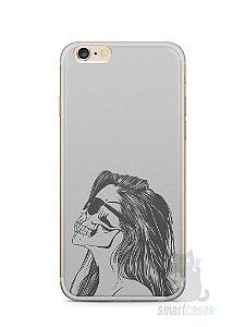 Capa Iphone 6/S Plus Mulher Caveira