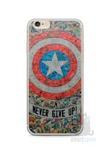 Capa Iphone 6/S Plus Capitão América Comic Books #3