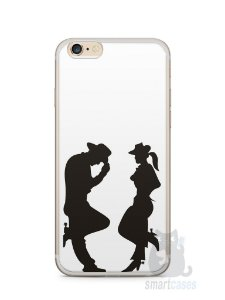 Capa Iphone 6/S Plus Cowboy e Cowgirl