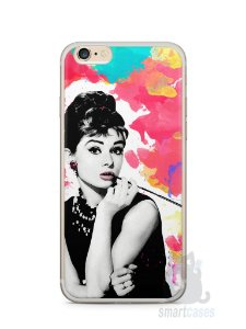 Capa Iphone 6/S Plus Audrey Hepburn #5