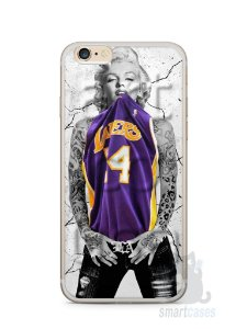 Capa Iphone 6/S Plus Marilyn Monroe Lakers