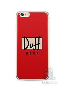 Capa Iphone 6/S Plus Cerveja Duff