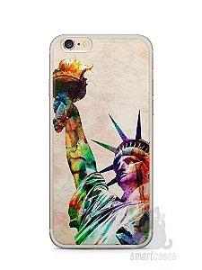 Capa Iphone 6/S Plus Estátua da Liberdade Colorida