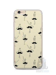 Capa Iphone 6/S Plus Bailarina Bigode