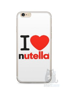 Capa Iphone 6/S Plus I Love Nutella