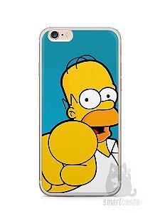 """Capa Iphone 6/S Plus Homer Simpson """"Escolho Você"""""""