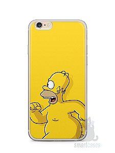 Capa Iphone 6/S Plus Homer Simpson Correndo Pelado