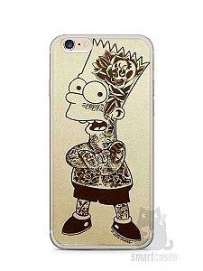 Capa Iphone 6/S Plus Bart Simpson Tatuado