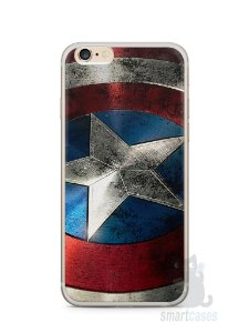 Capa Iphone 6/S Plus Escudo Capitão América