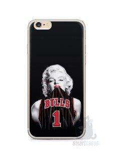 Capa Iphone 6/S Plus Marilyn Monroe Bulls