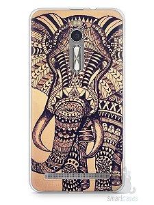 Capa Zenfone 2 Elefante Tribal