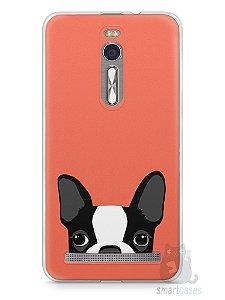 Capa Zenfone 2 Cachorro Bulldog Francês #1