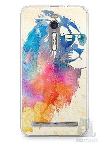 Capa Zenfone 2 Leão Colorido #2