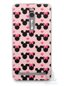 Capa Zenfone 2 Mickey e Minnie