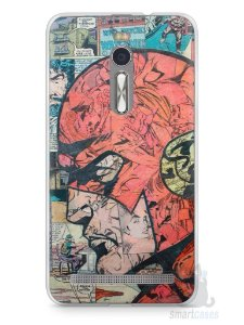 Capa Zenfone 2 The Flash Comic Books