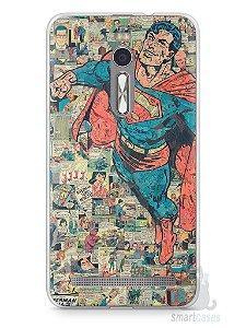 Capa Zenfone 2 Super Homem Comic Books