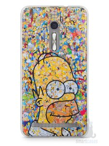 Capa Zenfone 2 Homer Simpson Comic Books
