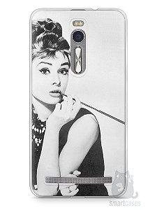 Capa Zenfone 2 Audrey Hepburn #1