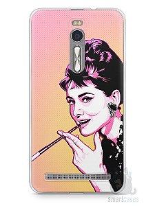 Capa Zenfone 2 Audrey Hepburn #2