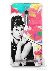 Capa Zenfone 2 Audrey Hepburn #5