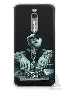 Capa Zenfone 2 Popeye Jogando Poker