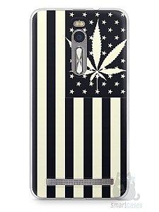Capa Zenfone 2 Maconha Bandeira EUA