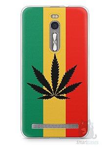 Capa Zenfone 2 Rasta Weed #2