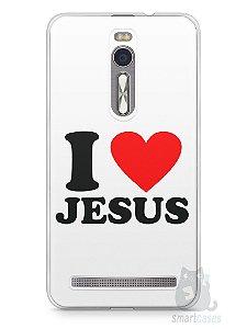 Capa Zenfone 2 I Love Jesus
