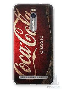Capa Zenfone 2 Coca-Cola Classic