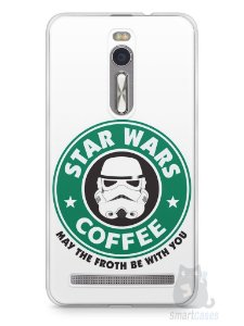 Capa Zenfone 2 Star Wars Coffee