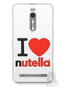 Capa Zenfone 2 I Love Nutella