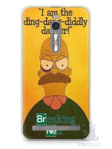 Capa Zenfone 2 Homer Simpson Breaking Bad